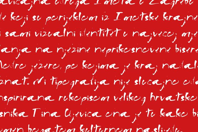 tipografija font - dizajn viz id