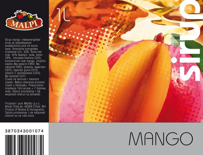 etiketa mango