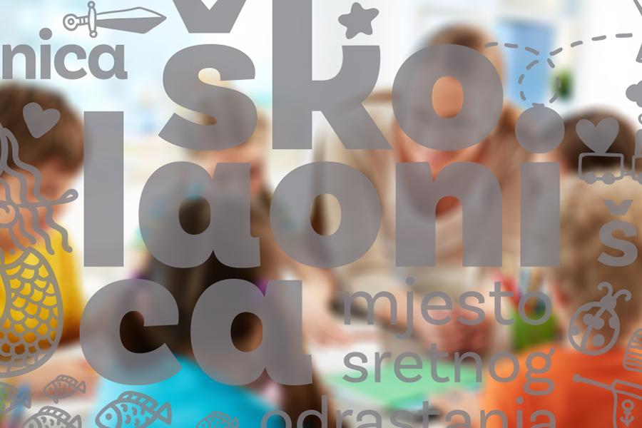 Vizualni identitet za Školaonicu - mjesto sretnog odrastanja