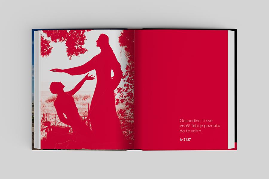 Grafički dizajn knjige «Sveta Zemlja knjiga sjećanja» Shift agencija za grafički dizajn