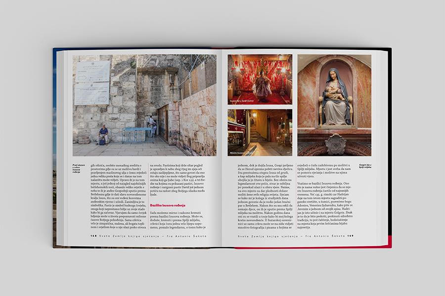 Grafički dizajn knjige «Sveta Zemlja knjiga sjećanja» agencija za grafički dizajn