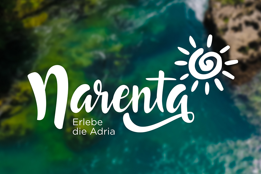 Visual identity of Narenta travel agency Switzerland graphic design Shift