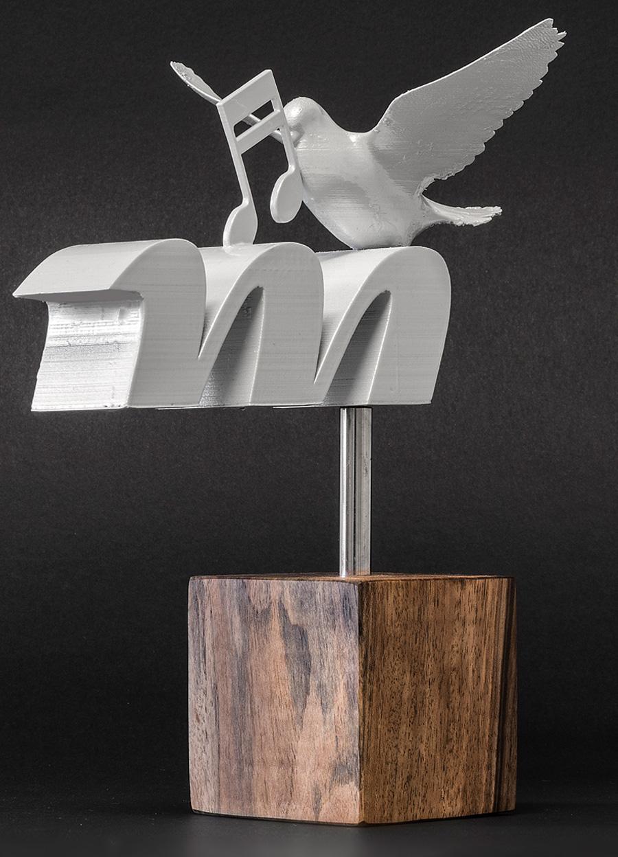 "Dizajn i izrada Nagrade Radiopostaje ""Mir"" Međugorje shift brand design"