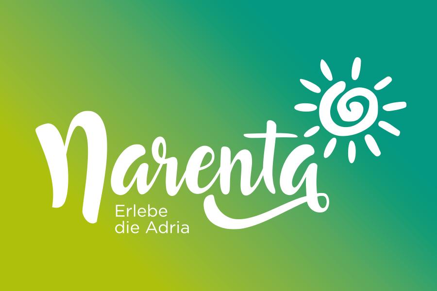 Visual identity of Narenta travel agency Switzerland logo design shiftbranddesign Mostar graphic design