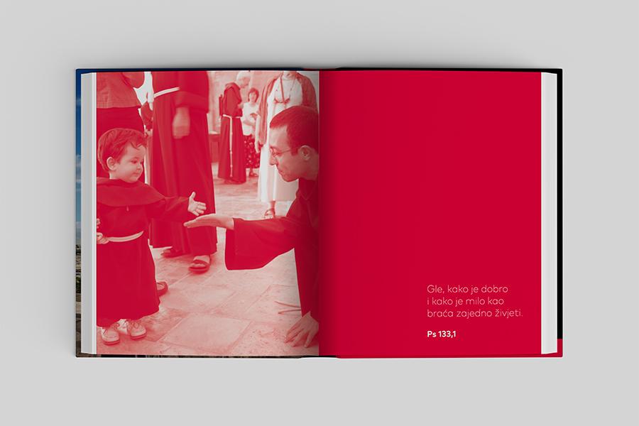 Grafički dizajn knjige «Sveta Zemlja knjiga sjećanja» Shift