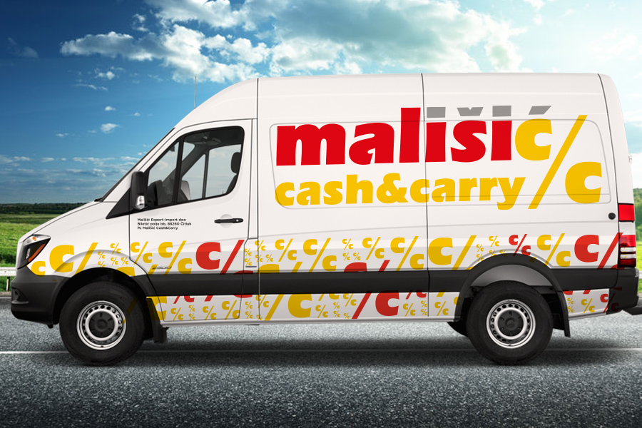 Vizualni identitet Mališić cash&carry