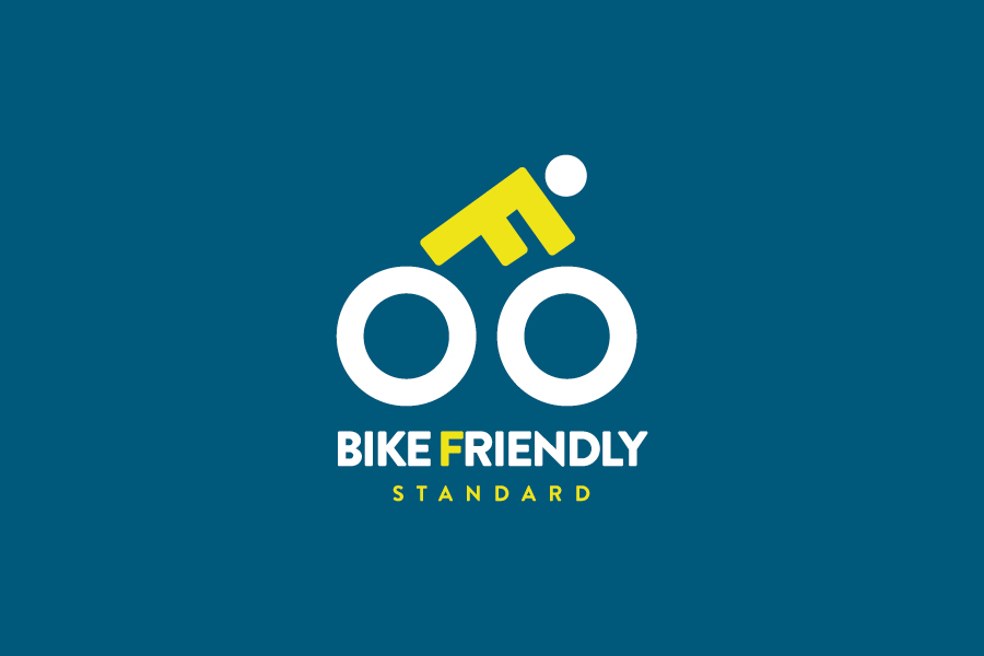 Dizajn logotipa i vizualnog identiteta Bike Friendly Standarda