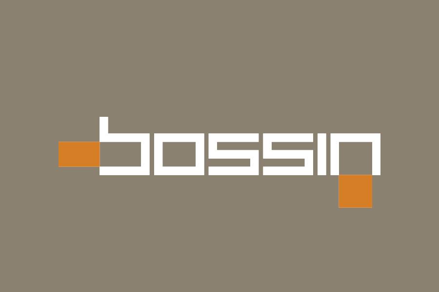 Dizajn negativ logotipa shift bossin vizualni identitet