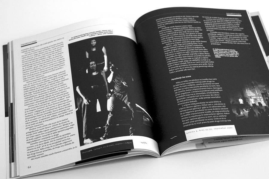 Vizualni identitet CDO Mostar, dizajn časopisa shift.ba
