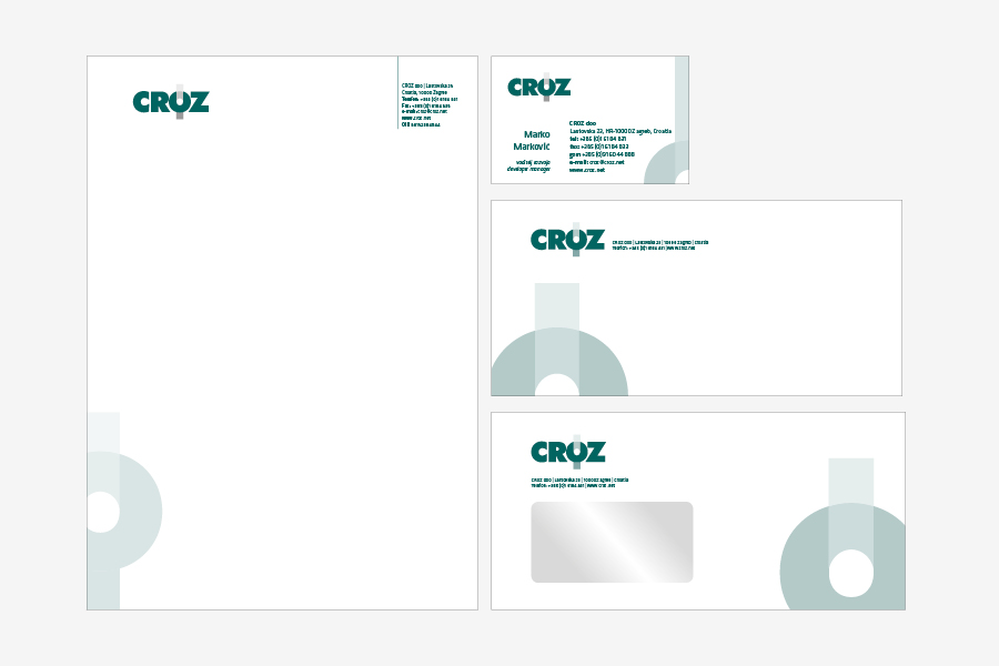 Knjiga grafičkih standarda za IT tvtku,memorandum,vizitke, shift agencija