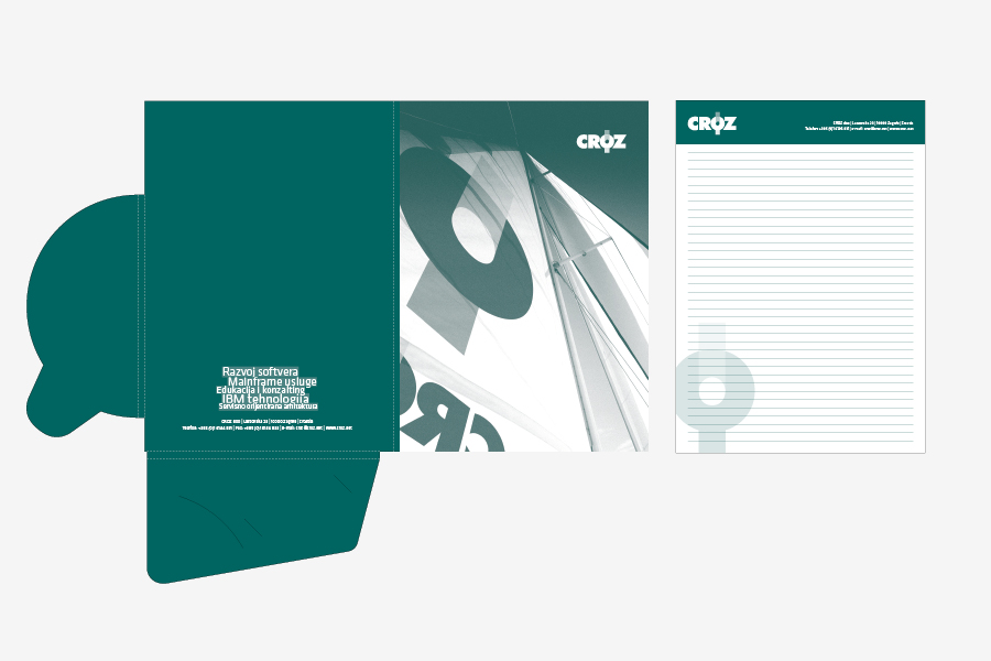 Knjiga grafičkih standarda za IT tvtku, memorandum
