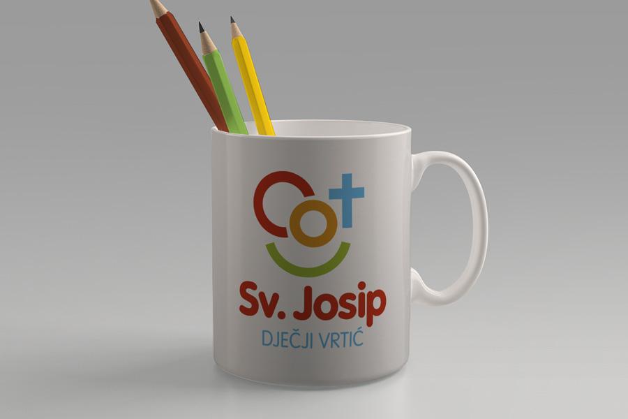 Vizualni identitet dječjeg vrtića Sv. Josip u Mostaru grafički dizajn shift