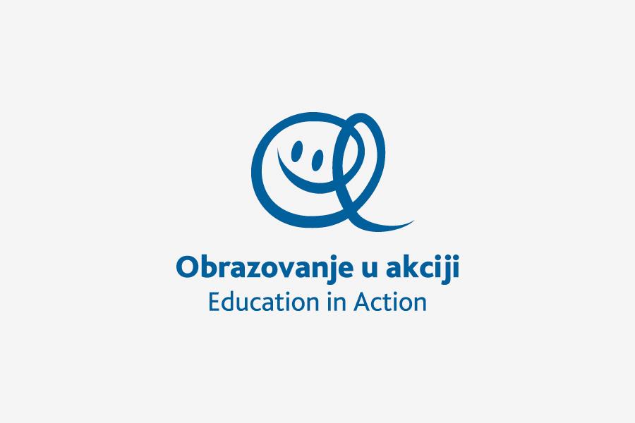 Dizajn logotipa Education in Action agencija shift