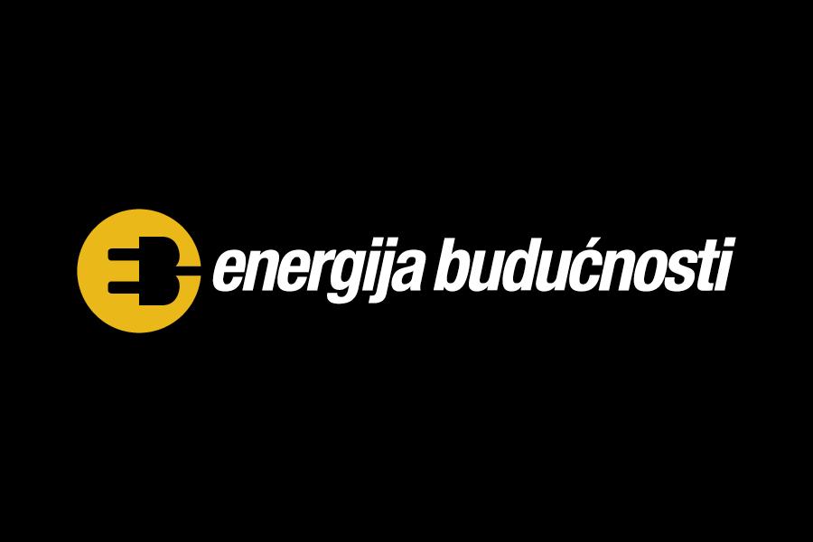 Vizualni identitet Energija budućnosti, dizajn logotipa, negativ