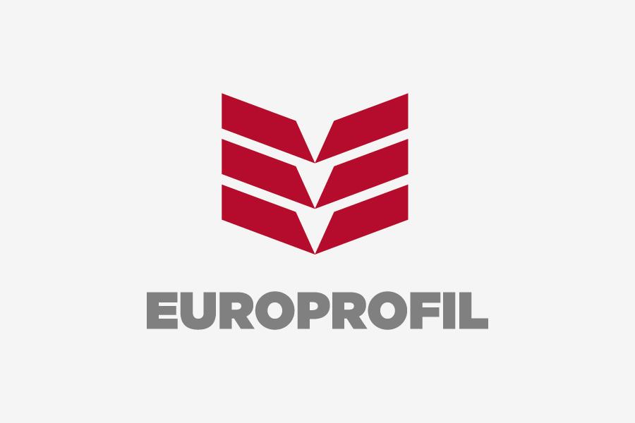 dizajn logotipa europrofil vizualni identitet shift agencija