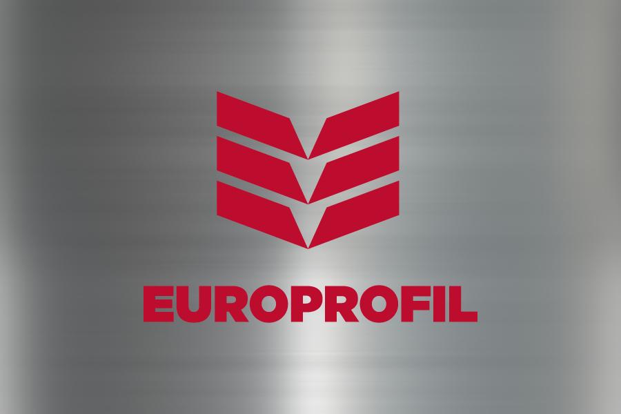 vizualni identitet europrofil negativ logotipa