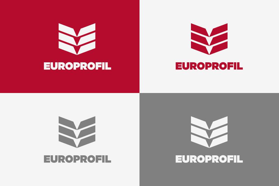 vizualni identitet europrofil dizajn shift.ba mostar