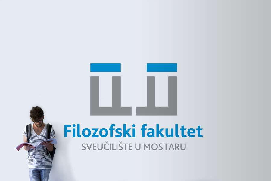 Dizajn vizualnog  identiteta Filozofskog fakulteteta u Mostaru shift agencija mostar