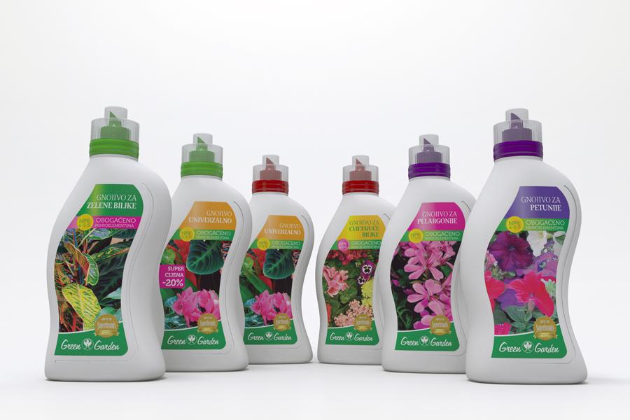 dizajn ambalaže green garden shift mostar
