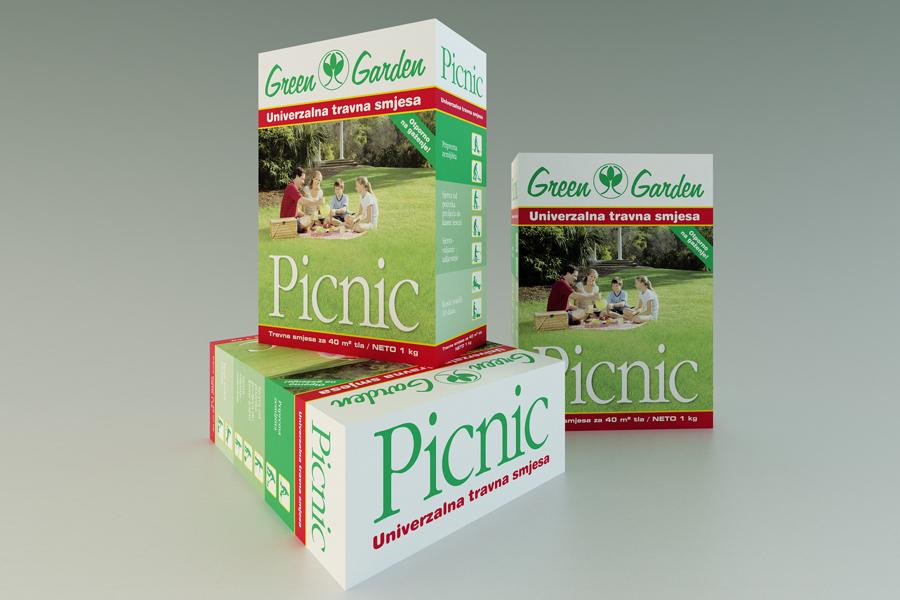 dizajn ambalaže green garden