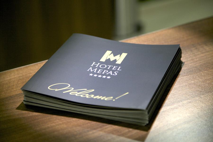 dizajn brošure, hotel mepas