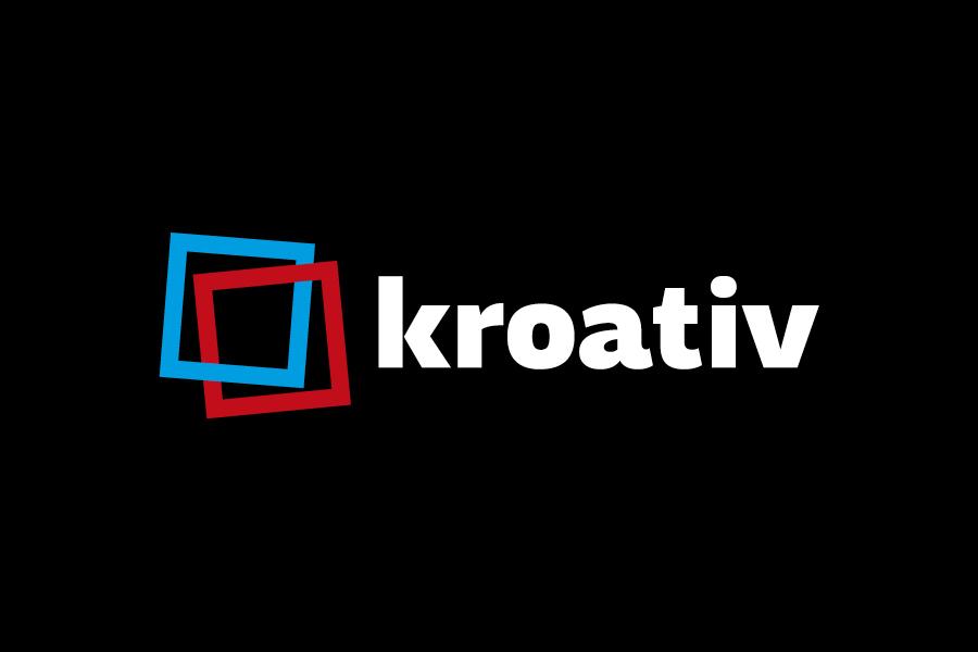 vizualni identitet kroativ, shift agencija mostar, dizajn logotipa