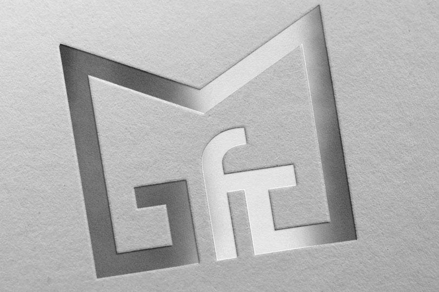 Visual Identity Design for Gymnasium High School logotype