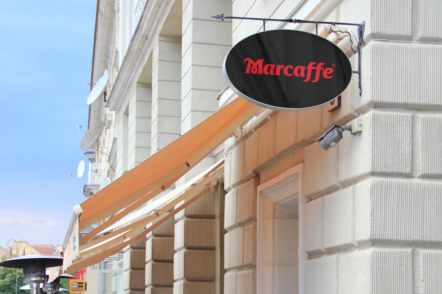 dizajn vizualnog identiteta marcaffe kava shift agencija