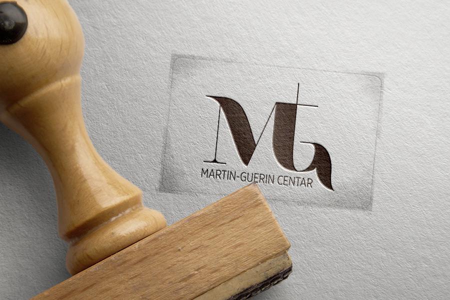 Vizualni identitet Martin-Guérin Centra graficki dizajn shift