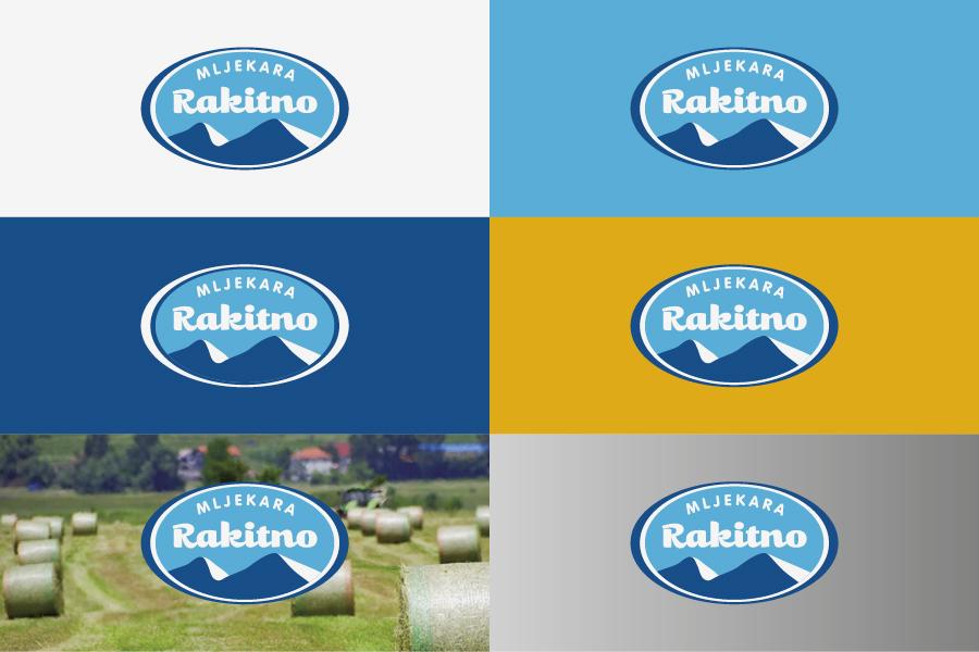 vizualni identitet mljekara rakitno logotip agencija shift mostar