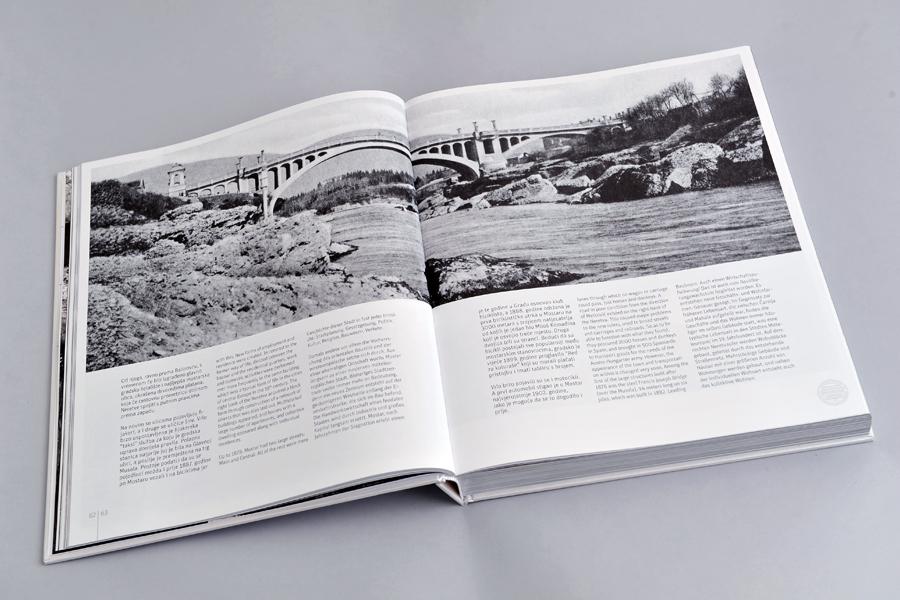 Dizajn monografije Sveučilišta u Mostaru, prijelom dizajn, shift.ba