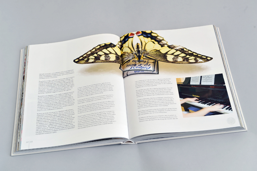 Dizajn monografije Sveučilišta u Mostaru