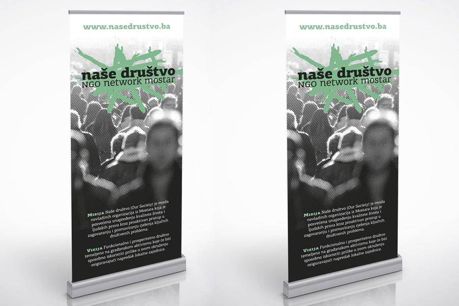 vizualni identitet nevladine organizacije naše društvo