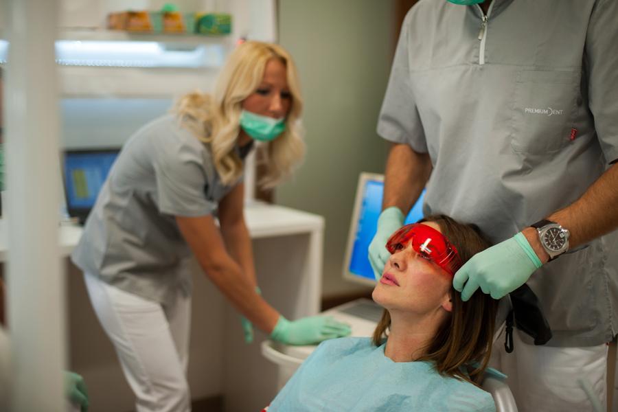 vizualni identitet poliklinike premium dent shift agencija mostar