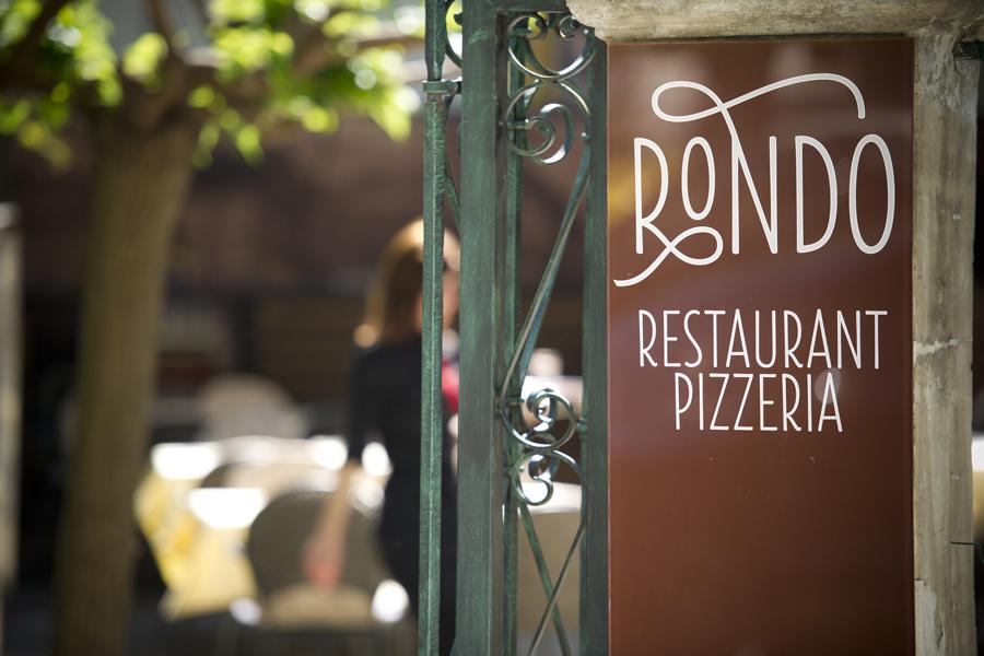 Vizualni identitet restorana Rondo, dizajn shift