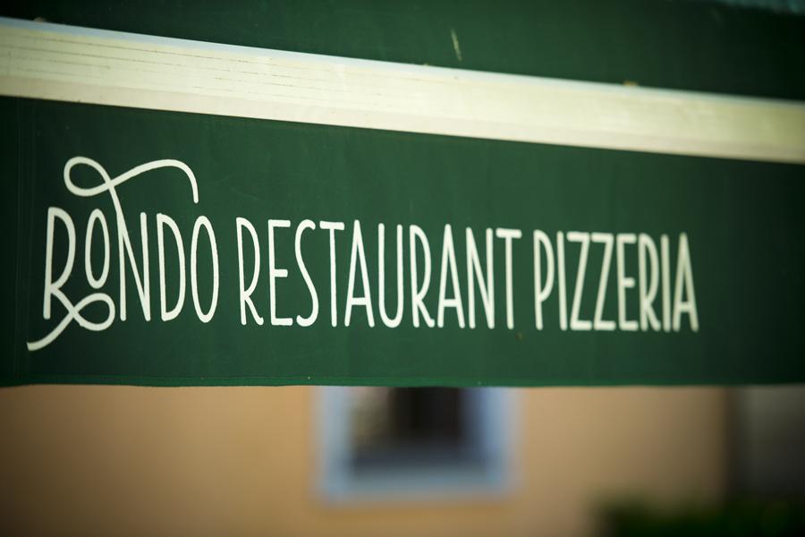 Vizualni identitet restorana Rondo, shift.ba