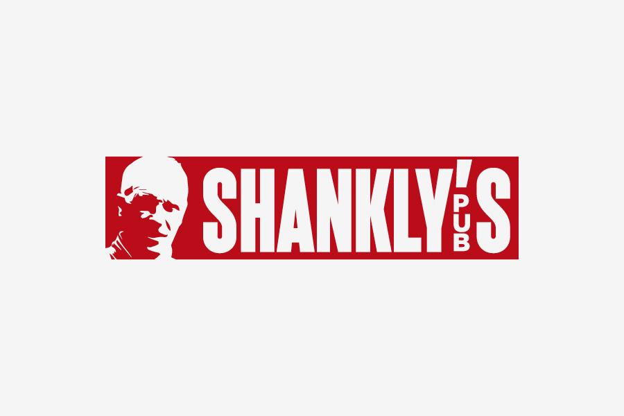 vizualni identitet shankly's pub , dizajn logotipa