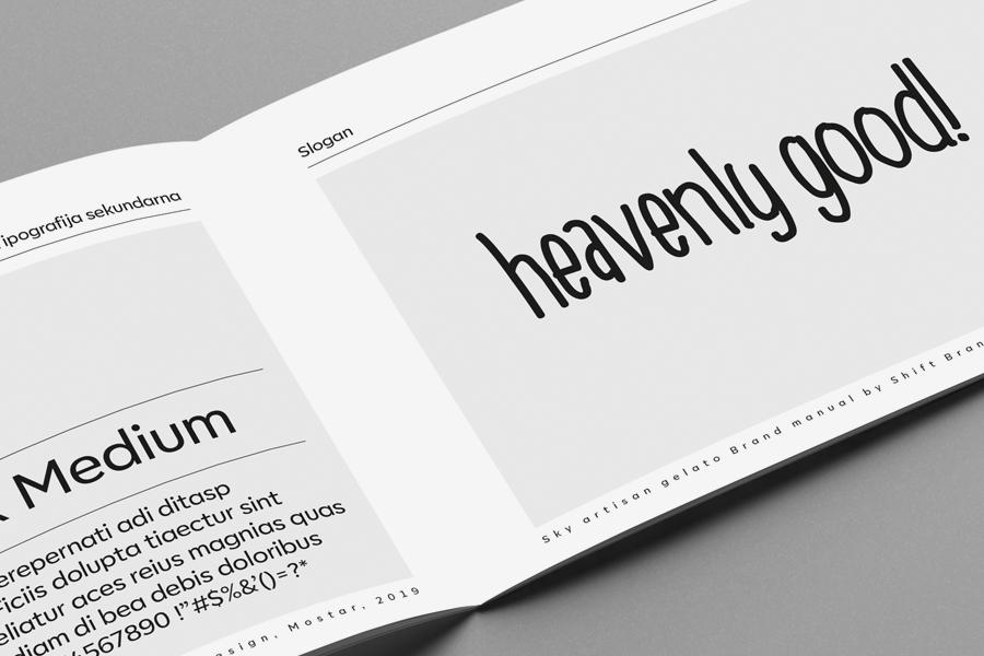 vizualni identity sky logotype dizajn shift grafička agencija