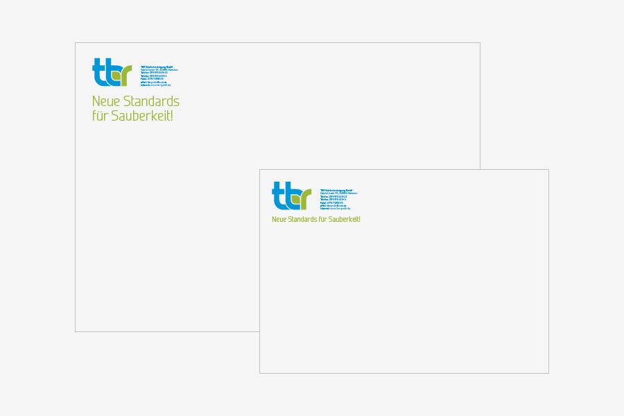 Vizualni identitet TBR GmbH, München