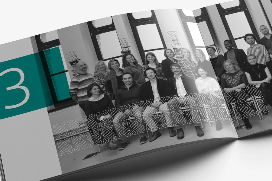 prijelom dizajn godišnje izviješće koledž ujedinjenog svijeta
