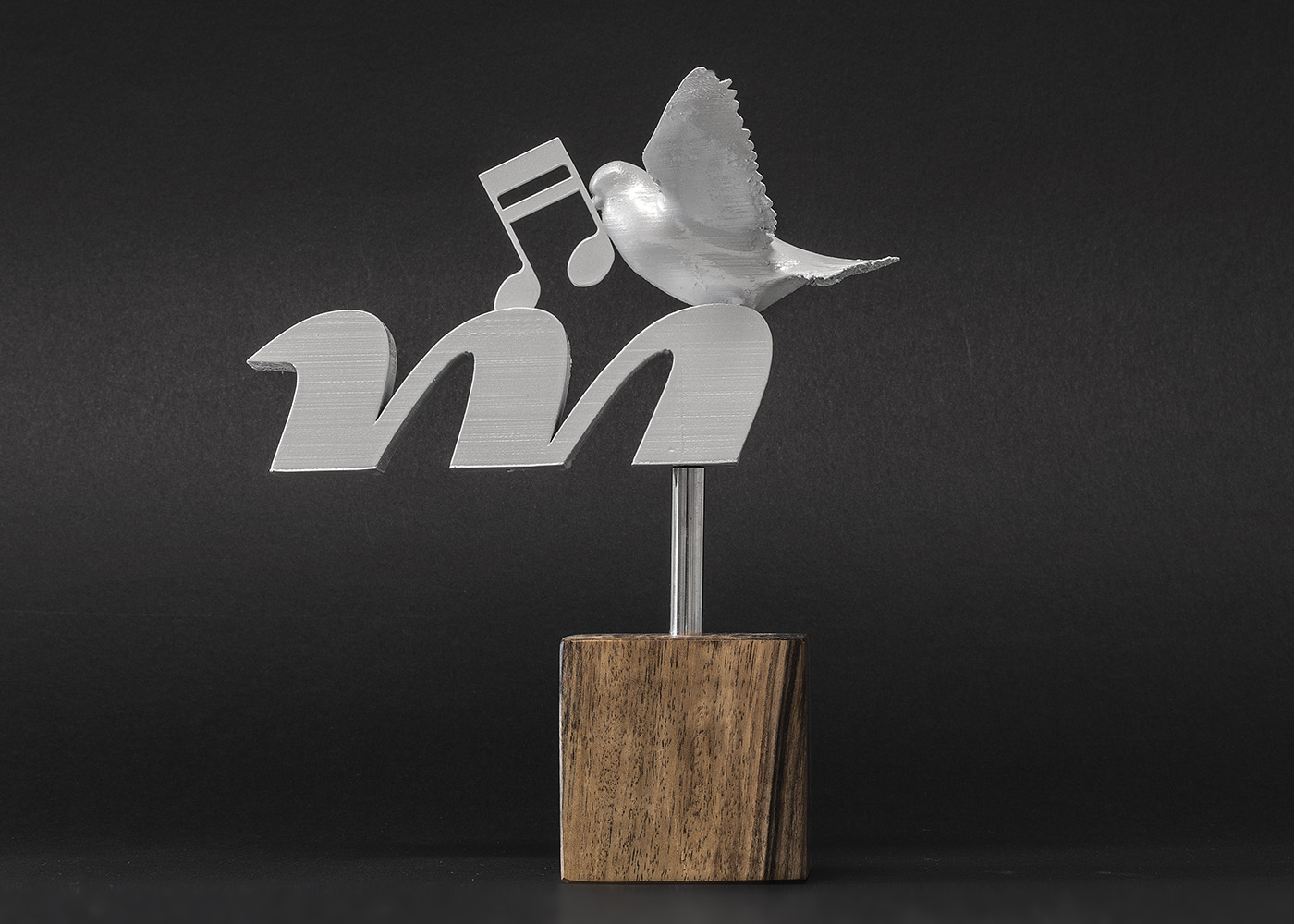 "Design and production of the award for the Radio station ""Mir"" Medjugorje"