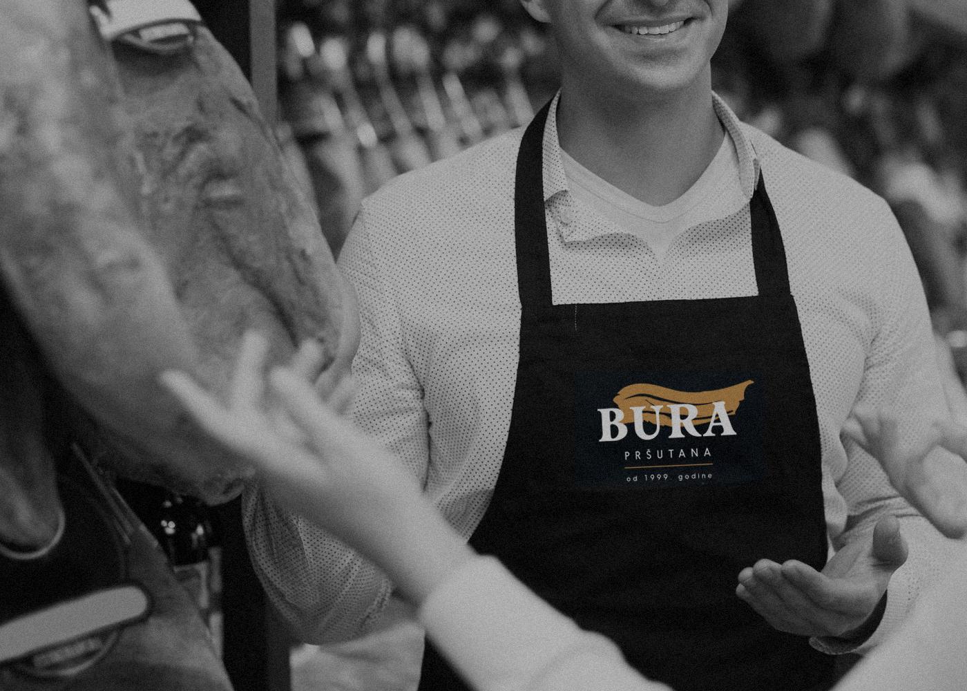 """Logo design for family-run business""""Bura"""""""