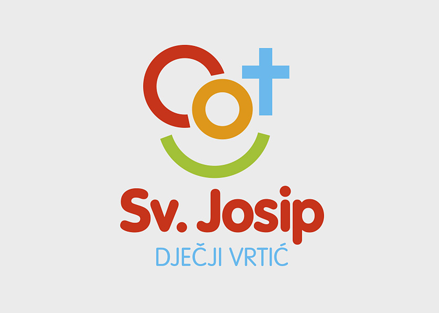 Visual identity of Sv. Josip nursery school, Mostar