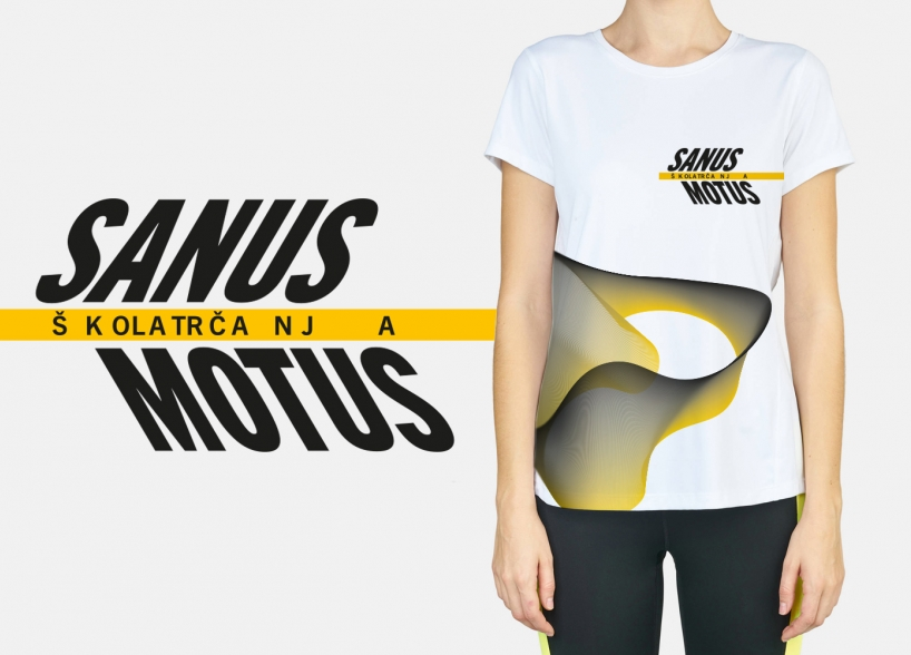 Visual identity of Sanus Motus – School of Running