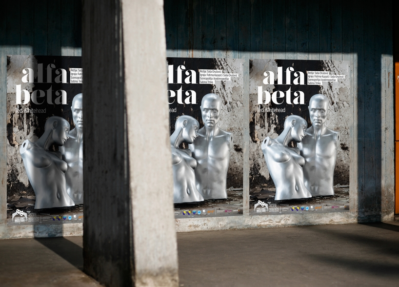 Dizajn plakata za predstavu Alfa Beta Narodno pozorište u mostaru grafički dizajn shift