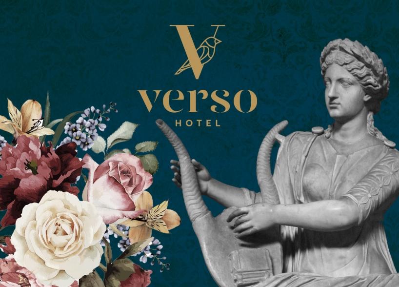 Brand Identity Design of Hotel Verso, Mostar