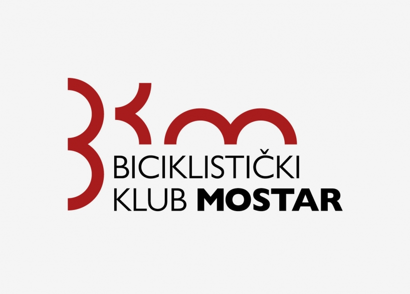 Logo design of the Bicycle Club Mostar