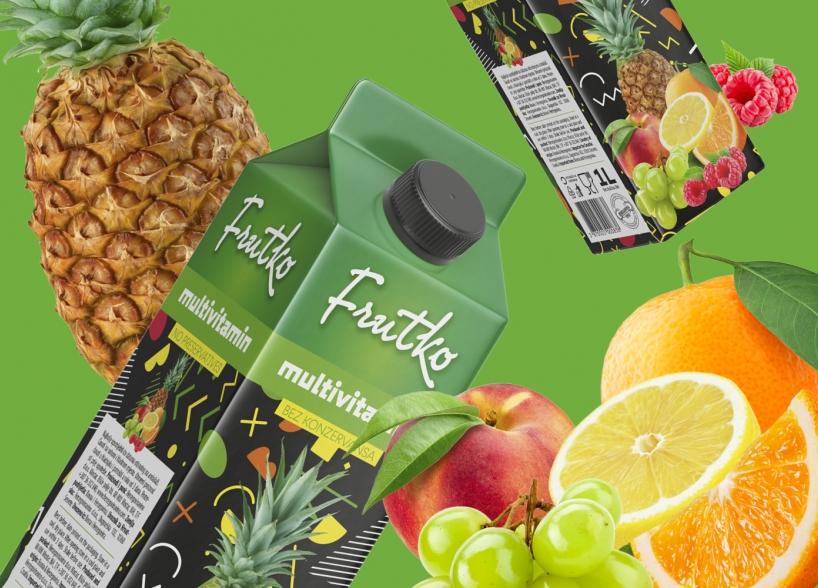 Brand identitet i dizajn pakiranja voćnih sokova