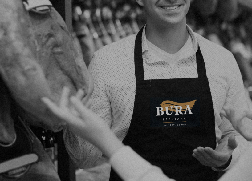 "Logo design for family-run business ""Bura"""