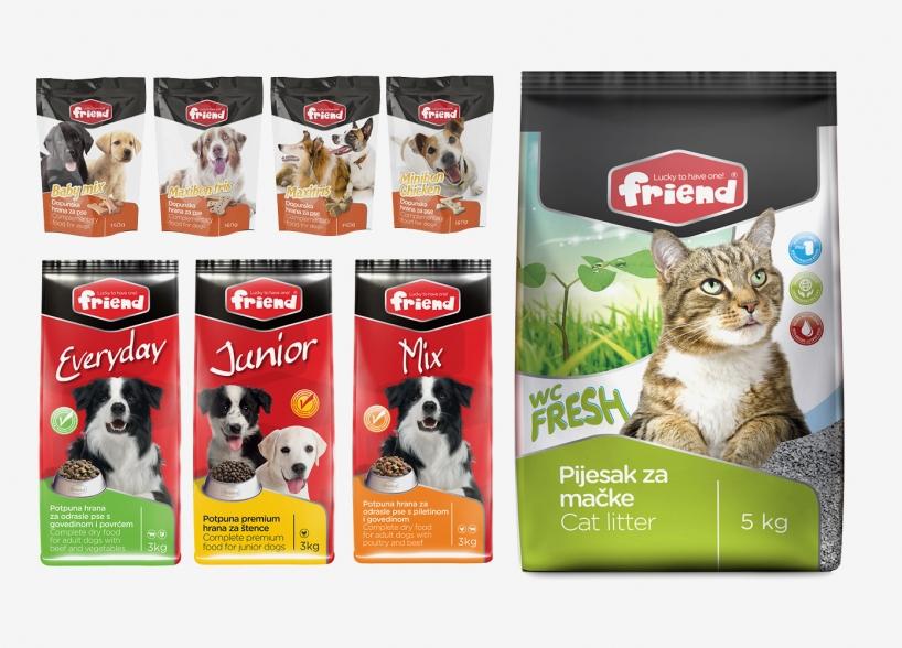 Markenidentität für Katzen - und Hundefutter
